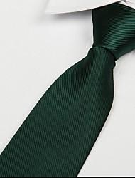 vert foncé loisirs adulte sergé cravate jacquard flèche cravate
