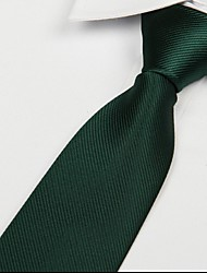 escuro adulto lazer tie sarja seta jacquard gravata verde