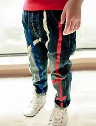 Boy's Cotton Pants Winter / Fall Pour The Paint  Cowboy  Sport  Leisure  Pants
