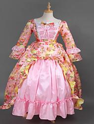 vestido largo prom venta steampunk®top rosa brocado lolita marie antonieta wholesalelolita vestido de princesa