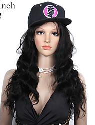 premierwigs novo 8a 8 '' - 26 '' onda natural, cabelo brasileiro virgem glueless cheia do laço humano perucas rendas frente perucas