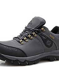 Men's Hiking Shoes Leather Gray