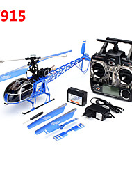 WLtoys V915 Seeker 2.4G 4CH 6 Axis RTF Lama RC Helicopter High Simulation With LCD Transmitter