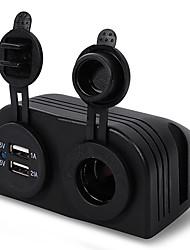 carchet двойной USB авто прикуривателя зарядное устройство 12v порт