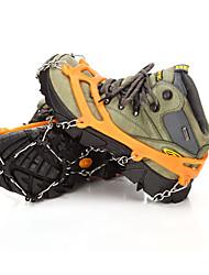 at8605 8 acier inoxydable chaussures de neige d'hiver en plein air crampons dent chaussures d'escalade et crampons fixés