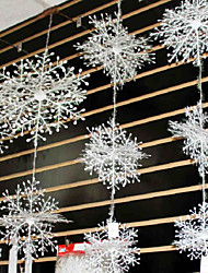 Christmas snowflake string of Christmas decorations Winding three-dimensional Christmas snowflake