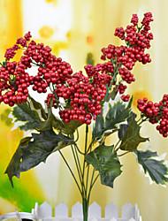 Styrofoam Fruta Flores artificiais