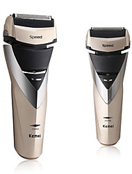 KM-8102 Professional Men Shaver with 3 Blades Full Body Washable Machine