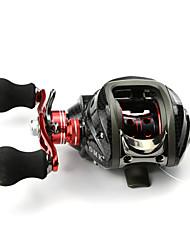 DMK DM120LA-C3 12 Bearing Bait Casting Fishing Reel Gear Ratio 6.3:1 Max Drag 5kg Left Handle  Magnetic Brake