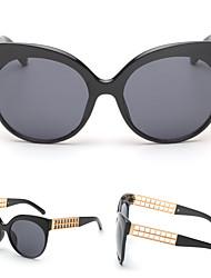 Sunglasses Women's Modern / Fashion Cat-eye Black Sunglasses Full-Rim