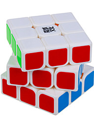 Smooth Speed Cube 3*3*3 Speed Magic Cube White ABS
