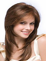 vente chaude charmantes femmes dame perruque syntheic extensions de perruques d'onde belle couleur