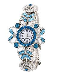 Women'S Watches Fashion Crystal Flowers Bracelet Watch