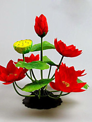 Artificial Flower 13 Heads Water Lily Flower Bonsai for Home Office Decor