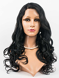 20inch Lace Front Hair Wigs 100% Human Hair Lace Front Wavy Style Human Hair Mongolian Virgin Hair Wigs for Women