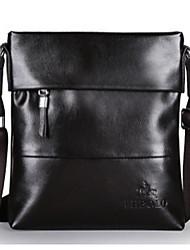 Bolso de Hombro - Baguette - PU - Marrón / Negro - Hombre