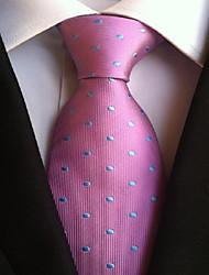 Men Wedding Cocktail Necktie At Work Purple Blue Colors Tie