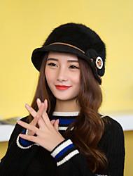 Women Luxury Wools Acrylic Bowknot  Hat LD00052
