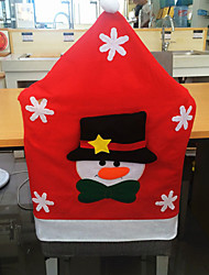 snowman Fashion Personality Christmas Chair cover