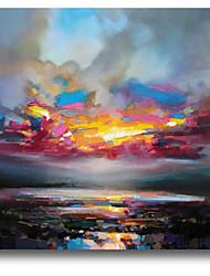 iarts®abstract dipinto ad olio paesaggio paesaggio colorato