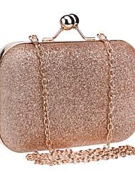 L.west Women Metallic Evening Bag