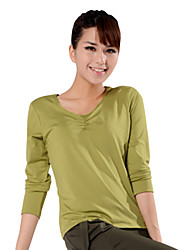 LEFAN ® Yoga Tops Breathable / Stretch / Wicking Stretchy Sports Wear Yoga / Fitness / Leisure Sports Women's