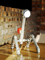 2016 Handmade Nordic Industrial Water Pipe Desk Lamp LED Vintage E27  Iron Wrought Art Collect Table Lamps-FJ-DT1S-009A0