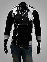 Men's Hoodie Sweats & Hoodies , Cotton Blend Long Sleeve Casual Fashion Winter / Fall GF