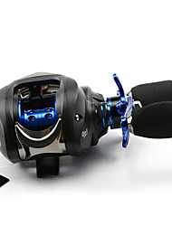 DMK DM120RF-X1 14 Bearing Bait Casting Fishing Reel Gear Ratio 6.3:1 Max Drag 5kg Right Handle Centrifugal Brake