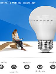 1 PCS 3W E26/E27 Smart LED Voice controled & Optically controlled Bulb Light Corridor induction lamp 220V