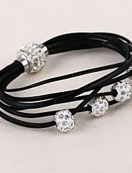 Bracelets Wrap ( Strass ) Mariage / Soirée / Quotidien / Casual / Sports