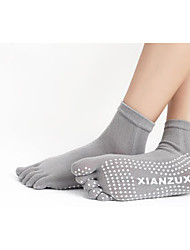 Skid Yoga Toe Socks Toe Socks Cotton