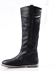 Women's Shoes Flat Heel Round Toe Knee High Boots More Colors available