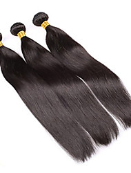 "Grade 4A 10""-30"" 100g/Lot Brazilian Virgin Human Hair Extension Straight Machine Weaving Hair Mega Hair Cabelo Natural"
