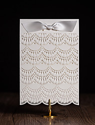 Personalized Top Fold Wedding Invitations Invitation Cards - 50 Piece/Set