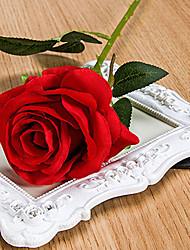 Polyester / Plastique Roses Fleurs artificielles