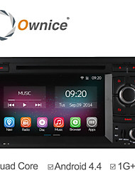 Ownice Quad Core Car DVD Player For Audi A4 2002 2004 - 2008 with Android 4.4 GPS Navigation Radio Headunit