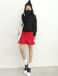 Women's Autumn Package Hip Skirts