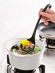 Elegant Swan Creative Kitchen Soup Ladle Spoon Long Handle Spoons With Tray Cooking Tools