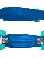 Classic Plastic Skateboard (22 Inch) Cruiser Board Blue&Green Colors