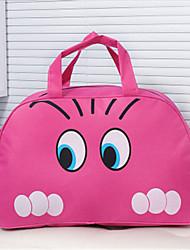 Women Nylon Outdoor Travel Bag - Pink / Blue