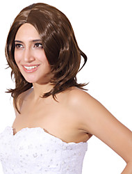 Capless Mix Color Extra Long High Quality Natural Curly Hair Synthetic Wig
