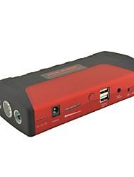 rote Multifunktions-Auto Notfall-Launcher Starthilfe Power Bank w / LED-Taschenlampe für Laptop-Notizbuch-Handy