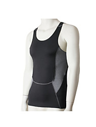 Running Tank Men's Breathable / Quick Dry / Sweat-wicking Fitness / Running Sports Tight Performance Black S / M / L / XL / XXL