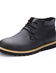Men's Shoes Casual  Boots Black / Brown