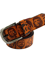 Men PU Waist Belt,Vintage / Casual Alloy All Seasons