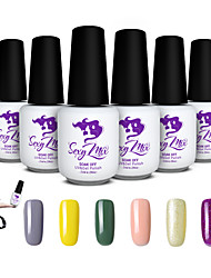 Sexy Mix 143 Colors UV Gel Builder Colors Pure Solid UV Gel Nail Art Tools Set Nail Gel Kit