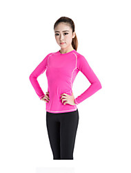 Fulang Women Sports Long Sleeve T-shirt Suit for Running Voga  DRY FIT Clothes   SC08