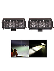 2x 60W LED Work Light Bar Offroad 12V 24V ATV Spot Offroad for  Truck 4x4 UTV