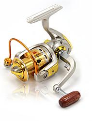 Mulinelli per spinning 5.2:1 10 Cuscinetti a sfera IntercambiabilePesca di mare / Pesca a ghiaccio / Spinning / Pesca di acqua dolce /
